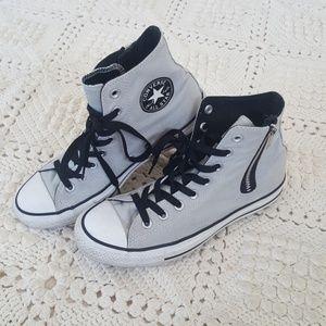 {Converse} Hi Chuck Taylor side zip sneakers